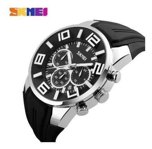 Relógio Skmei 9128 Original Na Caixa De Lata Com Nota Fiscal