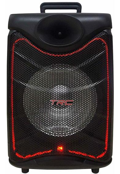 Caixa De Som Portátil Trc 517 Bluetooth 190w Iluminação Led