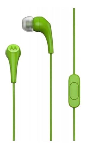 Auricular Motorola Earbuds 2 Jack 3.5 Super Liviano In Ear