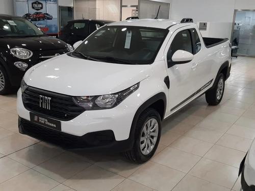 Fiat Strada Endurance Cabina D/ 100% Financiada Opc Gnc - **