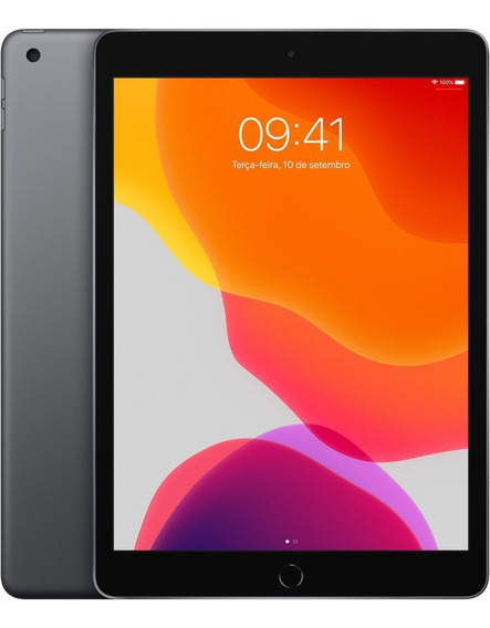 iPad (2019) 10,2 Polegadas Wi-fi 32 Gb Cinza-espacial