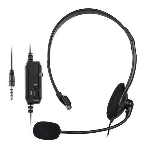 Auricular C/ Microfono Playstation 4 Ps4 - Factura A / B