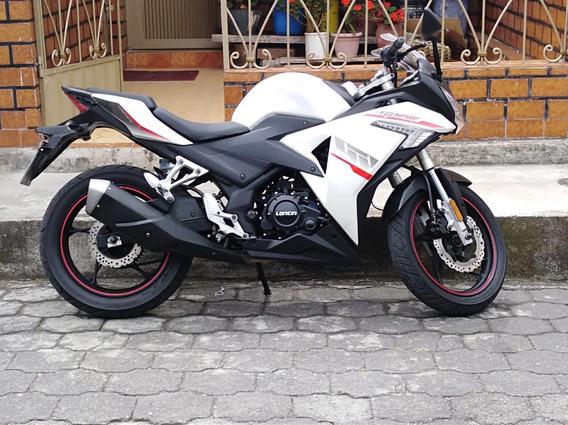 Loncin Gp 250 Blanco Con Negro