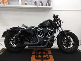 Harley Davidson Xl 1200 Forty Eight Preta 2016 - Target Race