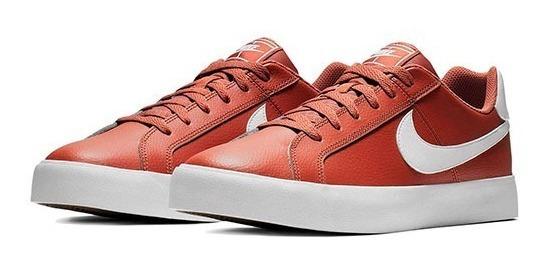 Tenis Nike Court Royale Bq4222-200 Camel-blanco Caballer Pv