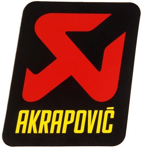 Sticker Akrapovic P-vst1al Metal Alta Temperatura