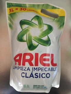 Ariel Y Skip De 3 Litros Soy 100% De Confianza