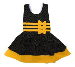 Kit 4 Vestidos Menina Infantil Modelos Variados Revenda
