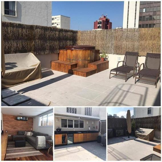 Pinheiros - Cobertura 2 Suites 3 Vagas - Co0352