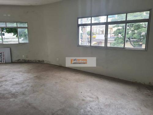 Imagem 1 de 3 de Sala Para Alugar, 25 M² - Vila Valparaíso - Santo André/sp - Sa0373