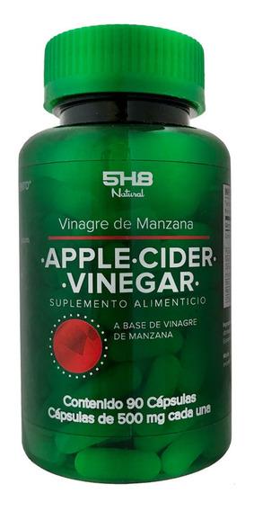 Suplemento Alimenticio Vinagre De Manzana 120 Caps 5h8
