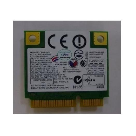 Placa Wi-fi Mini Pci Wll6160-d99 Para Samsung N145