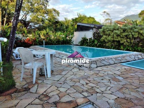 Casa Com 2 Dormitórios À Venda, 75 M² Por R$ 320.000,00 - Massaguaçu - Caraguatatuba/sp - Ca6079
