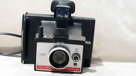 Câmera Polaroid Colorpack 80 Antiga Decoração Raridade