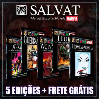 Pacote Marvel - 5 Salvat Capa Preta