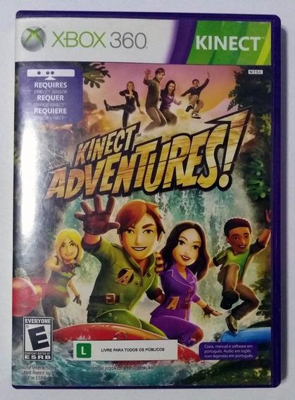 Jogo Kinect Adventures X360 Mídia Física