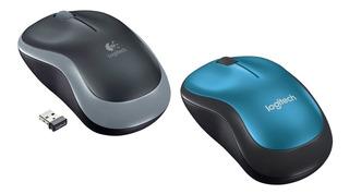 Mouse Logitech Optico M185 Inalambrico Mac Win Usb 2.4 Ghz