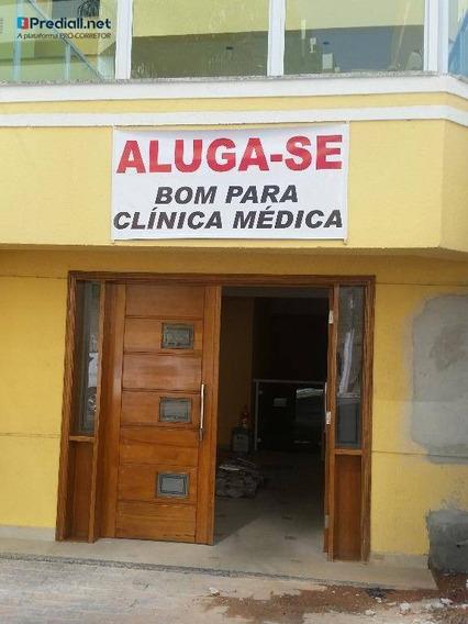 Salão Para Alugar, 190 M² Por R$ 4.000/mês - Pirituba - São Paulo/sp - Sl0128