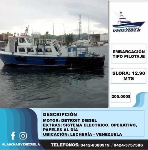 Embarcación Pilotaje Lv51