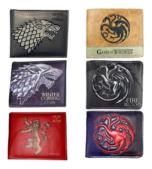 Game Of Thrones Cartera Stark Juego De Tronos Billetera Got