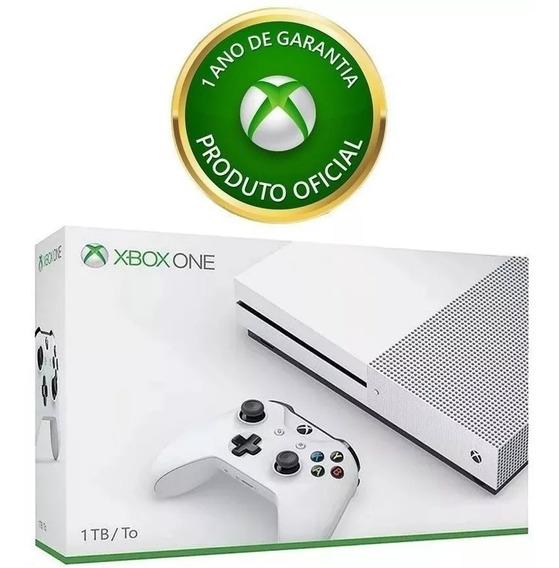 Xbox One S 1tb Original Garantia 1 Ano
