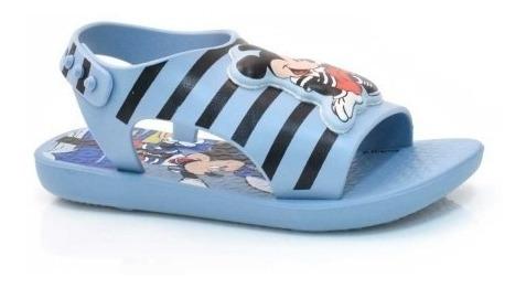 Sandalia Menino Infantil Love Disney 26111 Azul Ipanema