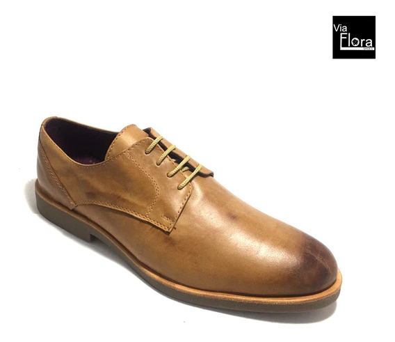 Zapato De Vestir De Hombre Gastado Cuero Vacuno (73/4052)
