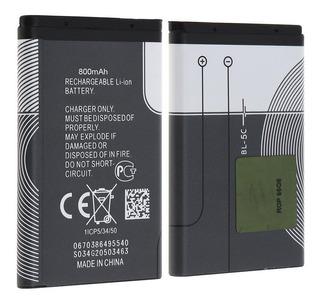 Batería Bl-5c Para Nokia 1100 1112 1208 Parlantes Portátiles