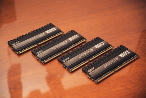 Kit 16gb (4x4gb) Ddr3 1866mhz Crucial Ballistix Elite