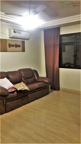 Excelente 3 Dormitórios Em Local Privilegiado No Bairro Do Campo Grande - 2596