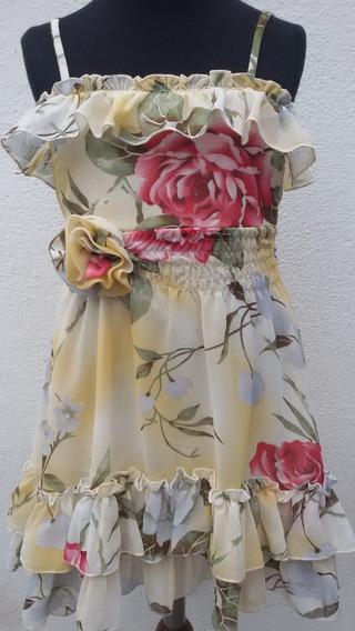 Vestido De Nena En Gasa