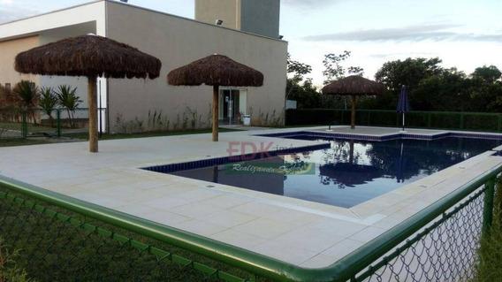 Terreno Plano À Venda, 420 M² Por R$ 200.000 - Condomínio Village Splendore - Pindamonhangaba/sp - Te0743