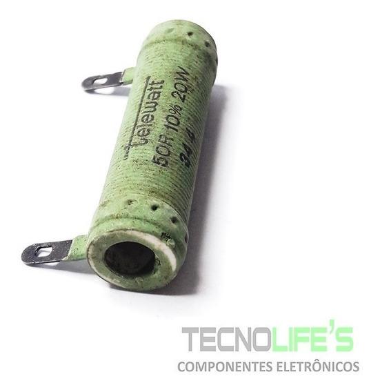 Resistor De Fio 50r 10% 20w