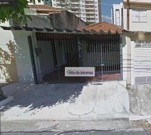 Casa Com 2 Dormitórios À Venda, 168 M²  - Saúde - São Paulo/sp - Ca0282