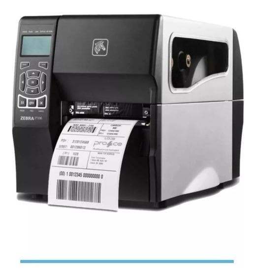Impressora De Etiqueta Térmica Zebra Zt230 Usb Serial Oferta