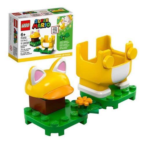 Lego Super Mario 71372 Traje Potenciador Gato 11pzas