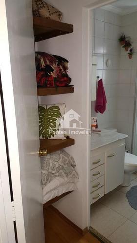 Imagem 1 de 30 de Apartamento 78m² 3 Quarto(s) C/suite Para Venda No Bairro Planalto Em São Bernardo Do Campo - Sp - Apa340