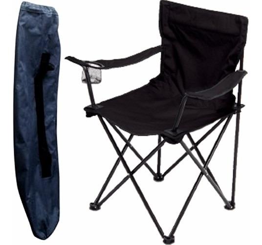 Cadeira Camping Dobravel Praia Pesca Com Porta Copos Top