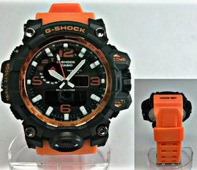 Relógio G-shock Mudmaster Laranjado Gravado 100% Funcional