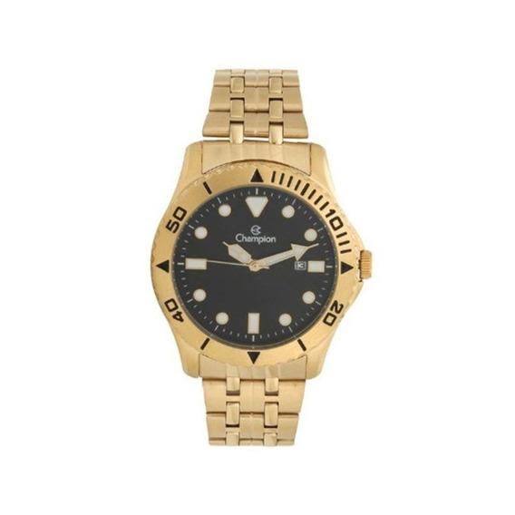 Relógio Champion Masculino Dourado Ca31560u