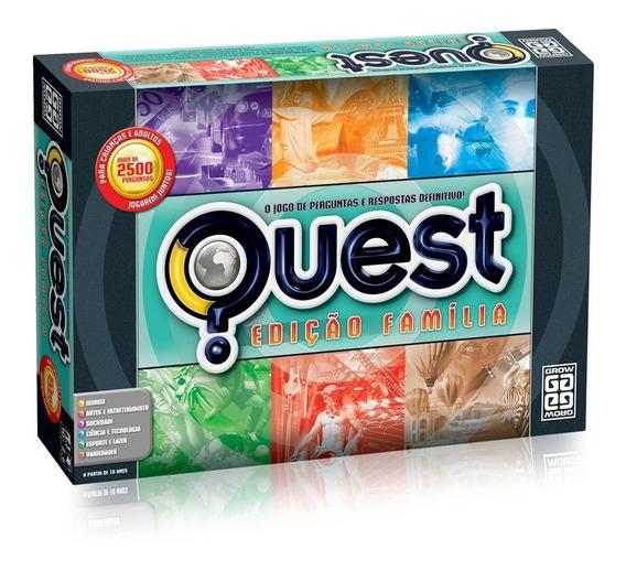 Jogo Quest Edição Família Grow