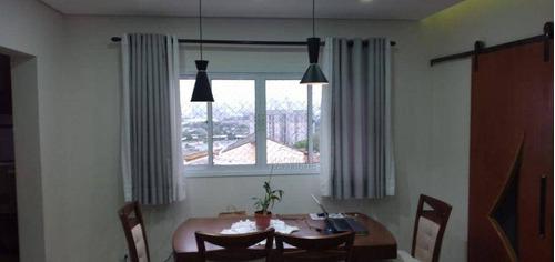 Imagem 1 de 26 de Cobertura Com 3 Dormitórios À Venda, 160 M² Por R$ 487.000,00 - Vila Metalúrgica - Santo André/sp - Co5607