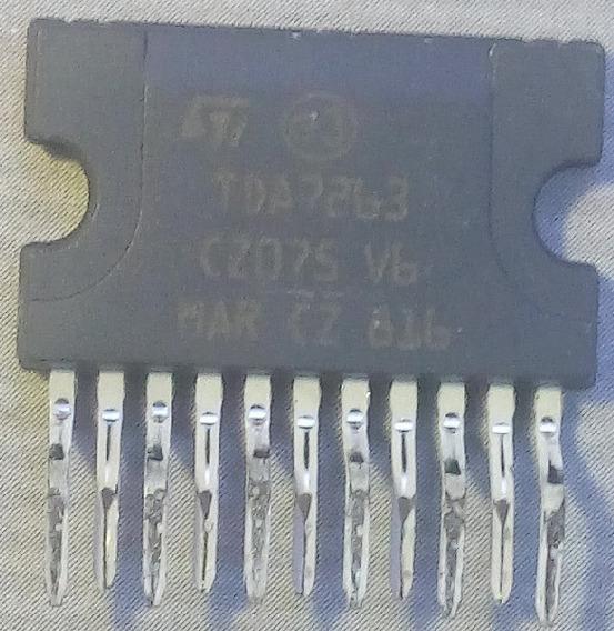 C I Ci Circuito Integrado Tda7263 T D A 7263