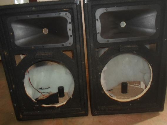 Cajas Sound Barrier Para Monitores 12 Pulgadas,con Crossover