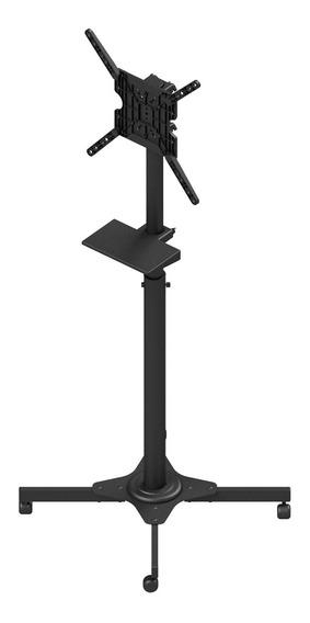 Pedestal P/ Televisor Tvc-01r-b Avatron 27-55 Pol C/ Bandeja