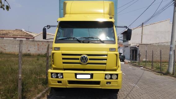 Vw 17210 6x2 Ano 2001 Amarelo