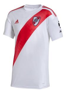 Camiseta De Futbol adidas River Plate Home Hombre Bl/rj
