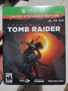 Shadow Of The Tomb Raider Steelbook Xbox One Nuevo Sellado