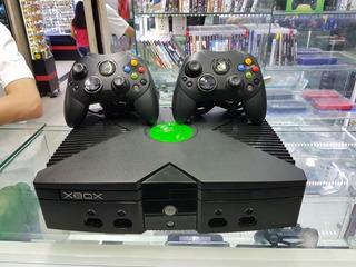 Xbox Clasica 2controles 5 Juegos A Eleccion F Y G