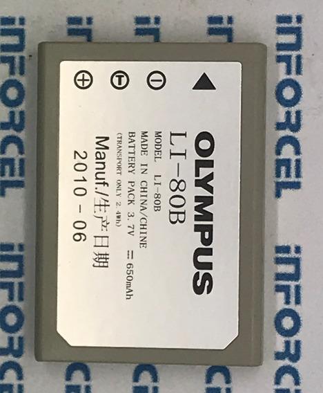 Bateria Olympus Câmera Li-80b T100, T110,x920,x36 Original